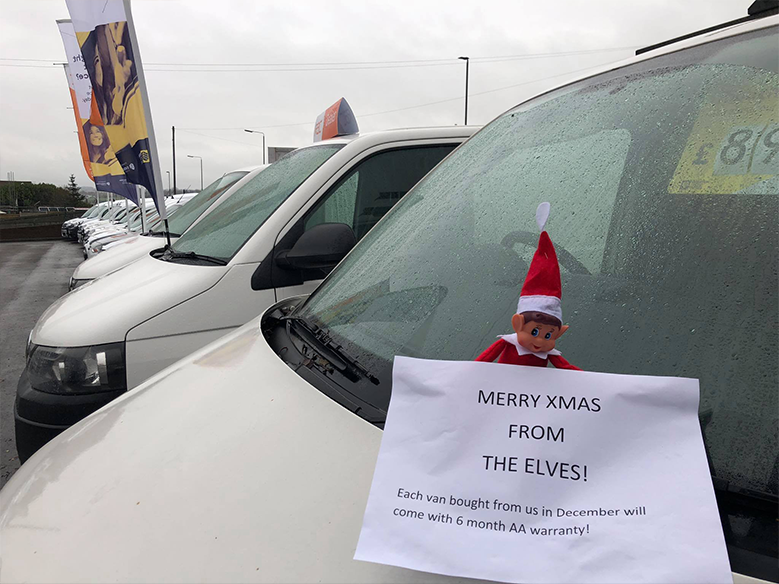 Merry Christmas from the van yard